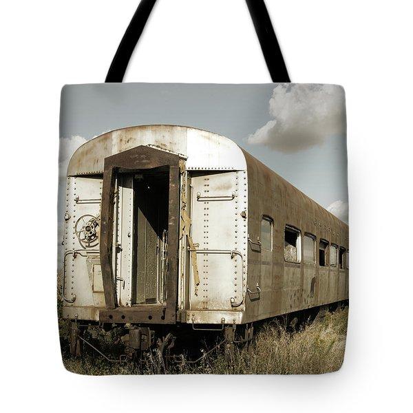 Train To Nowhere Tote Bag