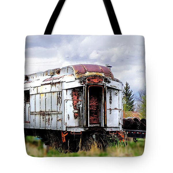 Train Tootoot Tote Bag