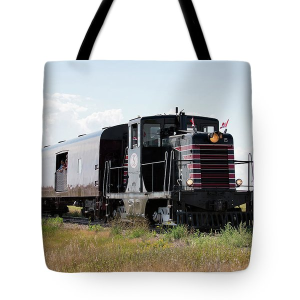 Tote Bag featuring the photograph Train Tour by David Buhler