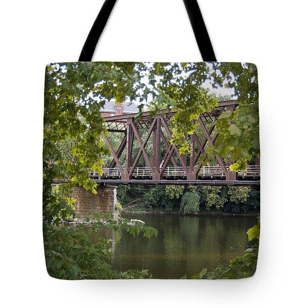 Train Trestle Tote Bag