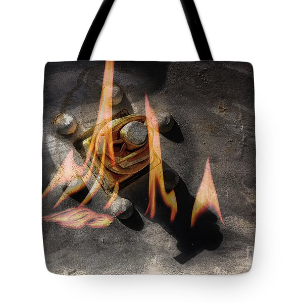 Train Wreck Tote Bag