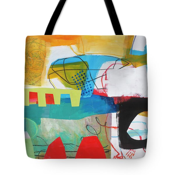 Train Wreck#6 Tote Bag by Jane Davies