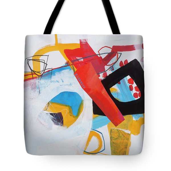 Train Wreck#7 Tote Bag by Jane Davies