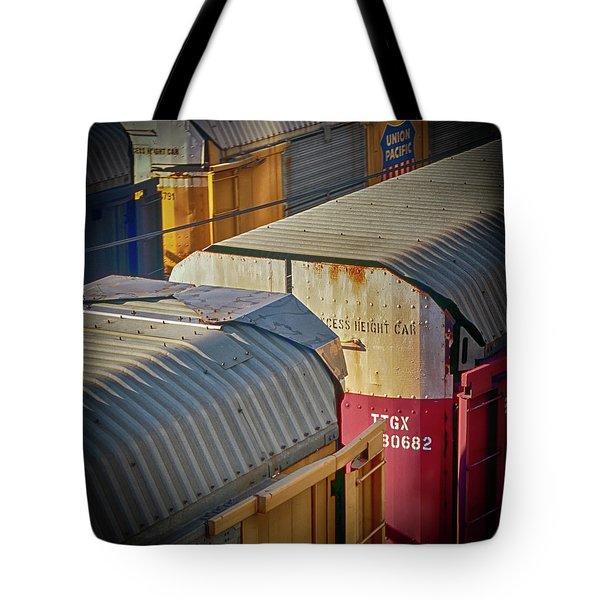 Trains - Nashville Tote Bag