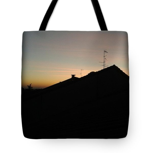 Chemistry In The Sunset Tote Bag