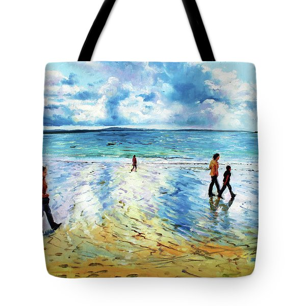 Tramore Beach Waterford Tote Bag