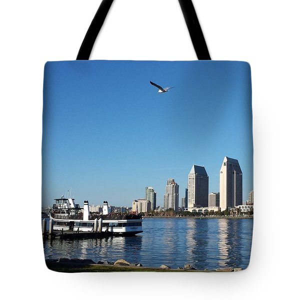 Tranquility By The Bay Tote Bag