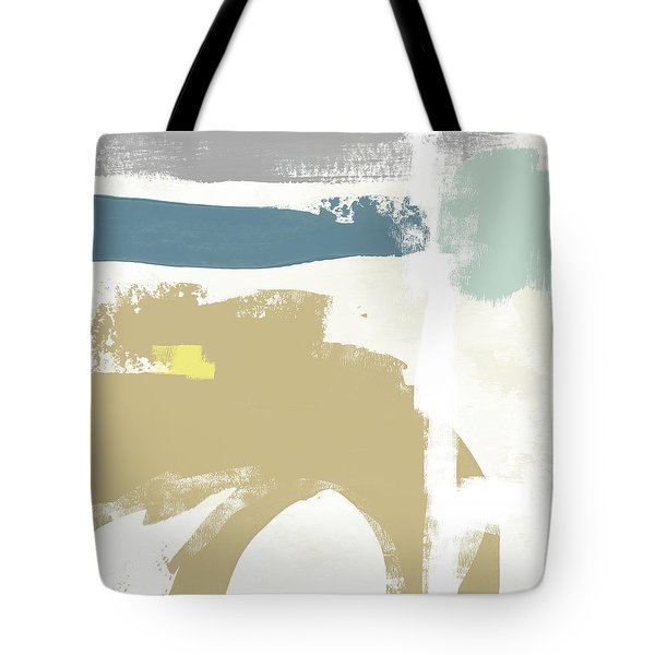 Tranquil Abstract 2- Art By Linda Woods Tote Bag