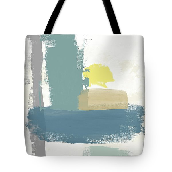 Tranquil Abstract 3- Art By Linda Woods Tote Bag