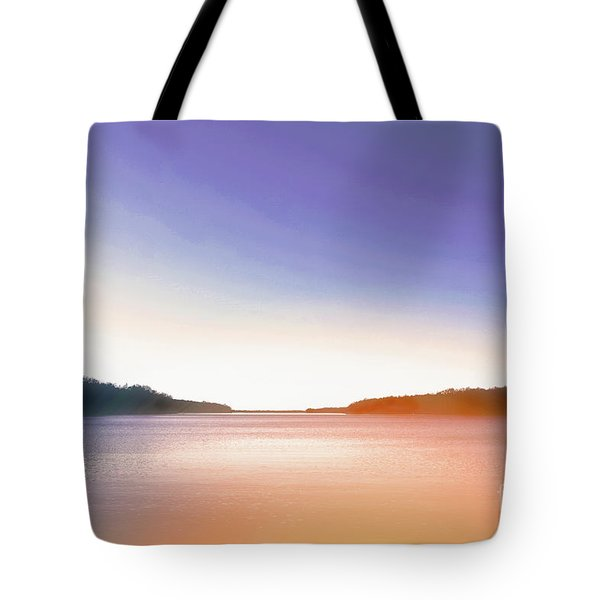 Tranquil Afternoon At The Lake Tote Bag