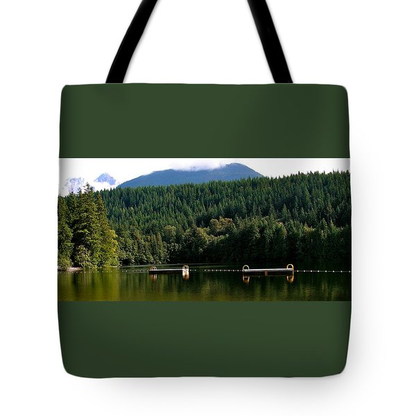 Tranquil Alice Lake Tote Bag