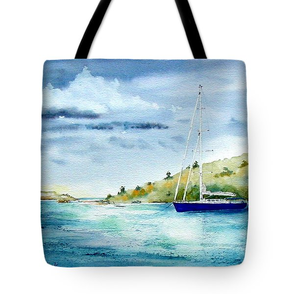Tranquil Anchorage Tote Bag