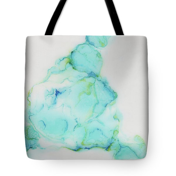 Tranquil And Soft Sky Tote Bag