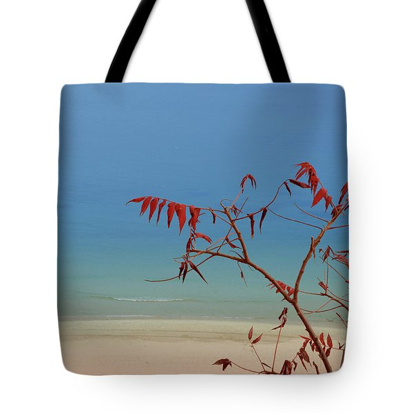 Tranquil Blue Tote Bag