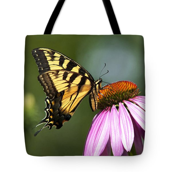 Tranquil Butterfly Tote Bag by Christina Rollo