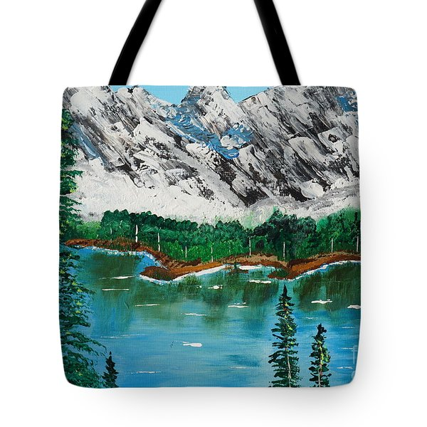 Tranquil Countryside  Tote Bag