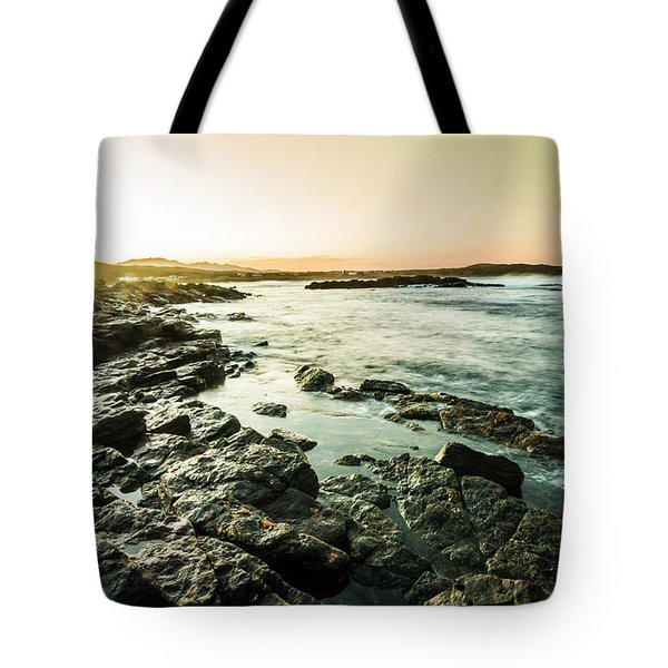 Tranquil Cove Tote Bag