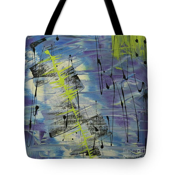 Tranquil Dream I Tote Bag by Cathy Beharriell