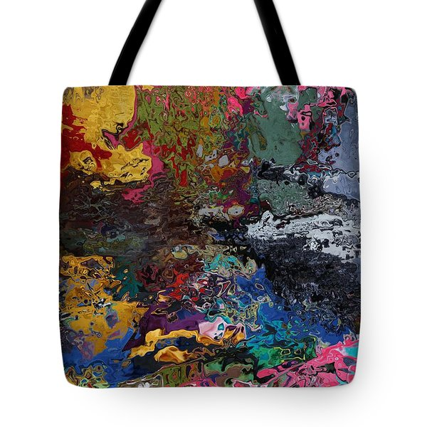 Tranquil Escape-1 Tote Bag by Alika Kumar