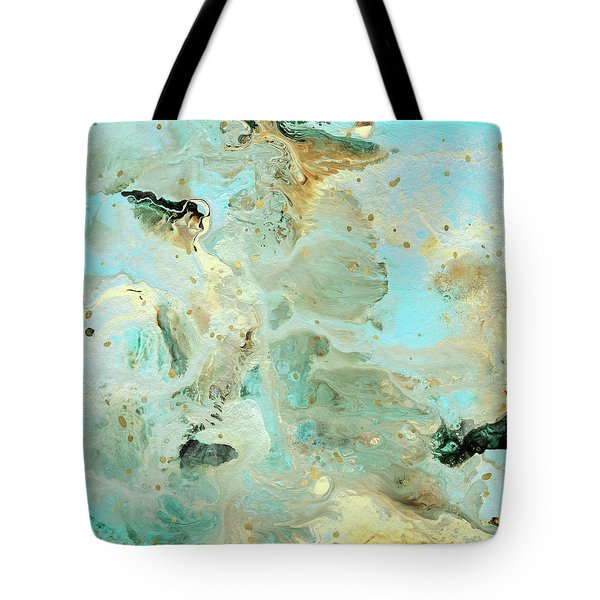 Tranquil Escape- Abstract Art By Linda Woods Tote Bag