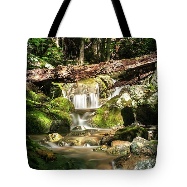 Tranquil Flow Tote Bag