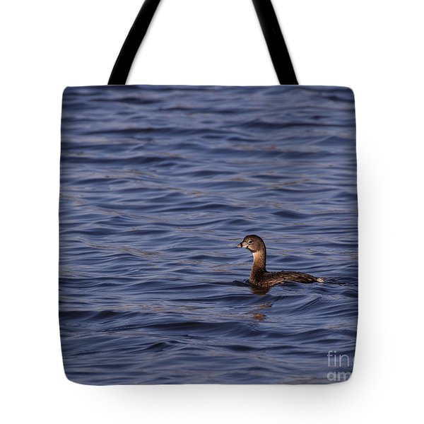 Tranquil In Blue Tote Bag