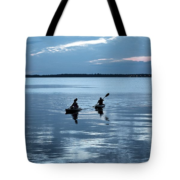 Tranquil Journey Tote Bag