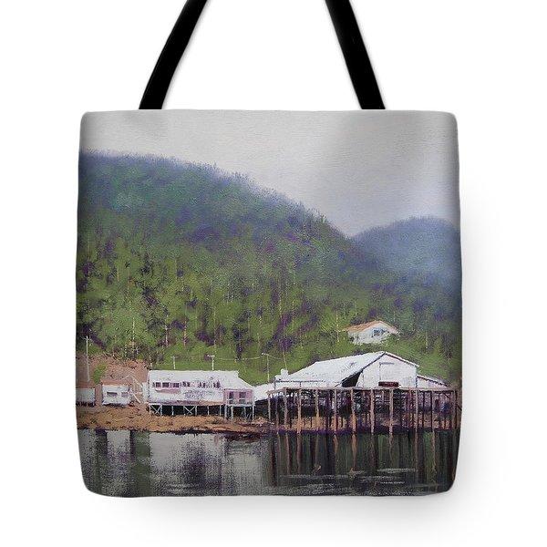 Tranquil Lake Canada Tote Bag