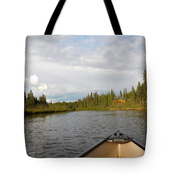 Tranquil Moment North Pole Ak Tote Bag
