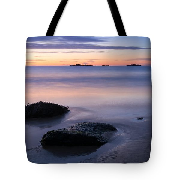 Tranquil Morning Singing Beach Tote Bag