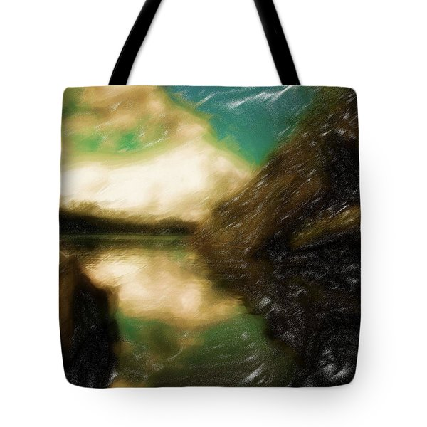 Tranquil Nature Awaits Tote Bag