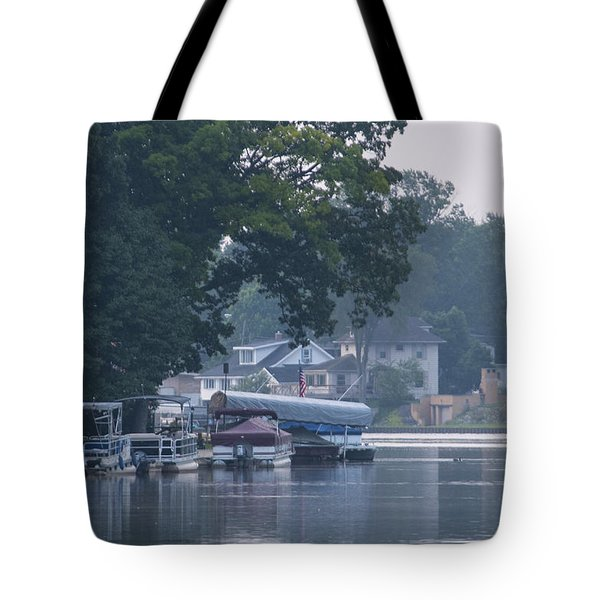 Tranquil River Tote Bag