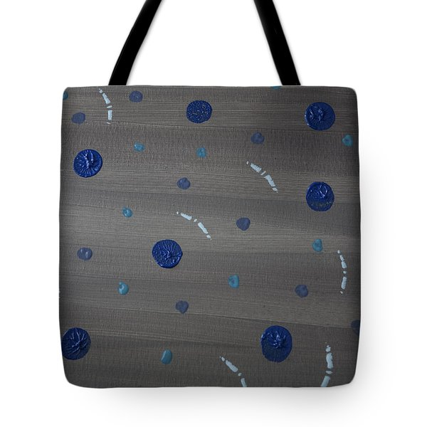 Tranquil Acrylic Abstract Tote Bag