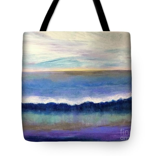 Tranquil Seas Tote Bag