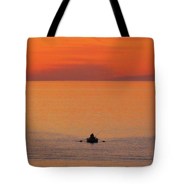 Tranquililty Tote Bag by Linda Hollis