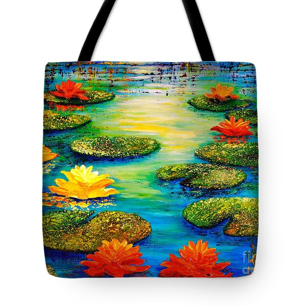 Tranquility 3 Tote Bag