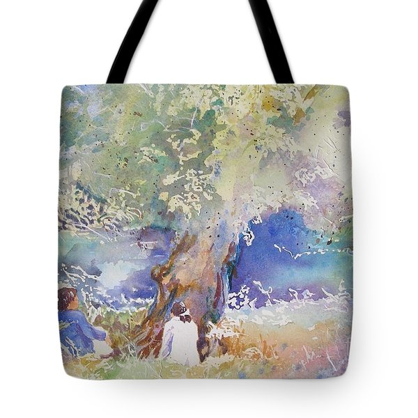 Tranquility At The Brandywine River Tote Bag