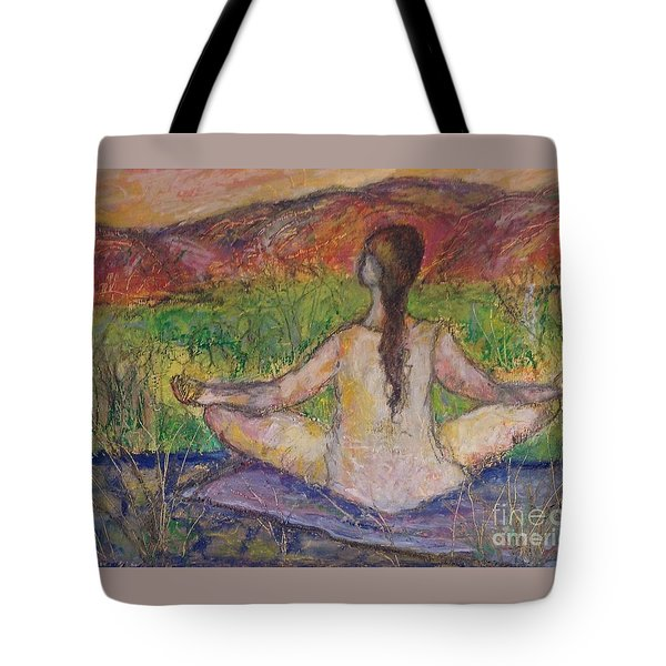 Tranquility Tote Bag by Gail Butters Cohen
