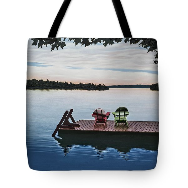 Tranquility Tote Bag by Kenneth M  Kirsch