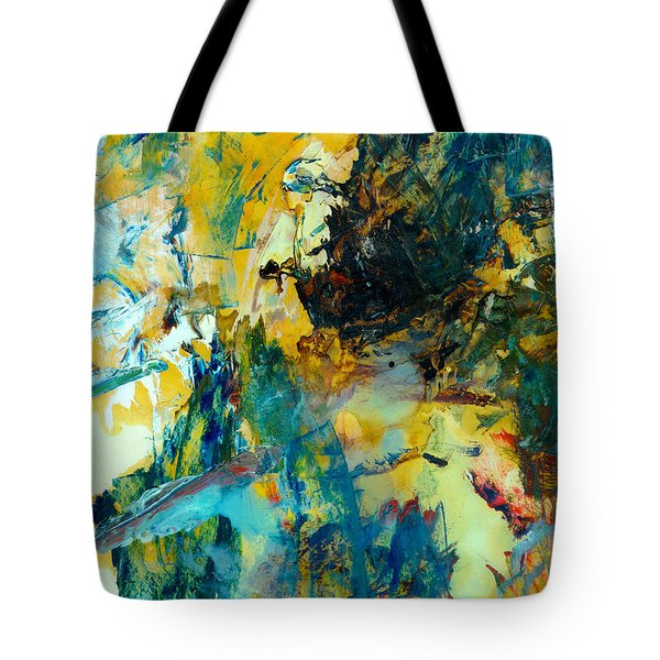 Tranquility Man #307 Tote Bag by Donald k Hall