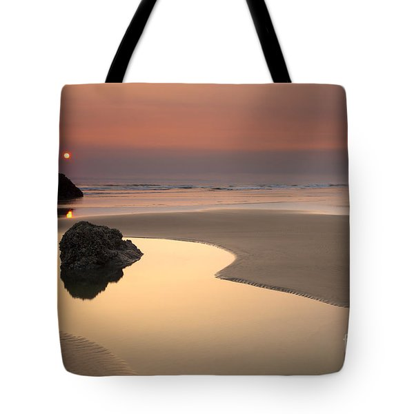 Tranquility Tote Bag by Mike  Dawson