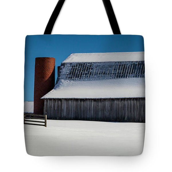 Tranquility Of Winter Tote Bag