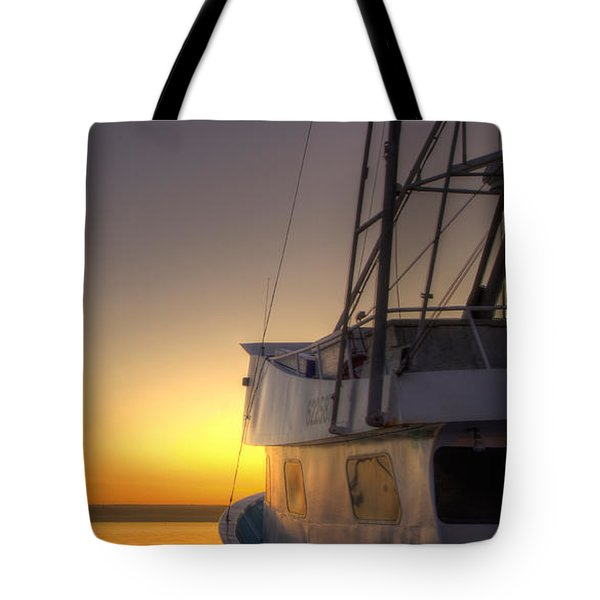 Tranquility On The Bay Tote Bag