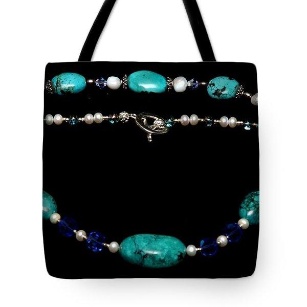 Tranquility Set Tote Bag by Yael VanGruber