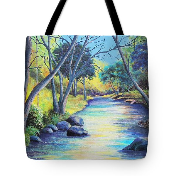 Tranquility Tote Bag by Susan DeLain