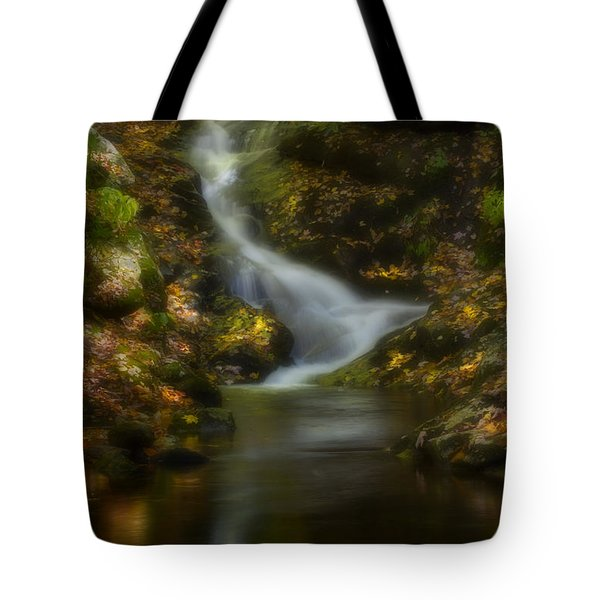 Tote Bag featuring the photograph Tranquility by Ellen Heaverlo
