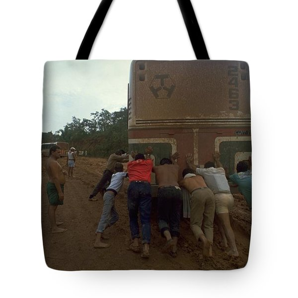 Trans Amazonian Highway, Brazil Tote Bag