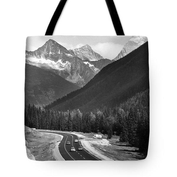 Trans-canada Highway Tote Bag