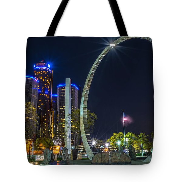 Transcend Detroit  Tote Bag