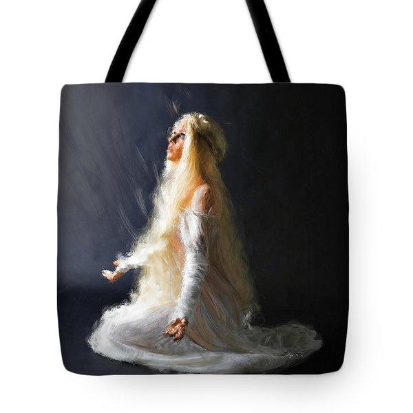 Transcendence One Tote Bag by Dave Luebbert